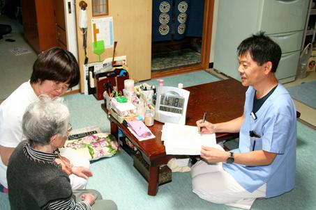 在宅訪問診療